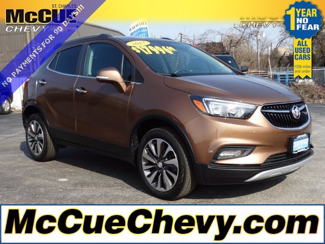Certified Pre-Owned 2017 Buick Encore Preferred II AWD SUV