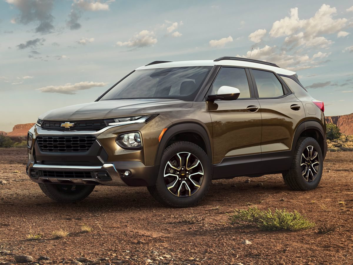 New 2021 Chevrolet Trailblazer LS All Wheel Drive SUV