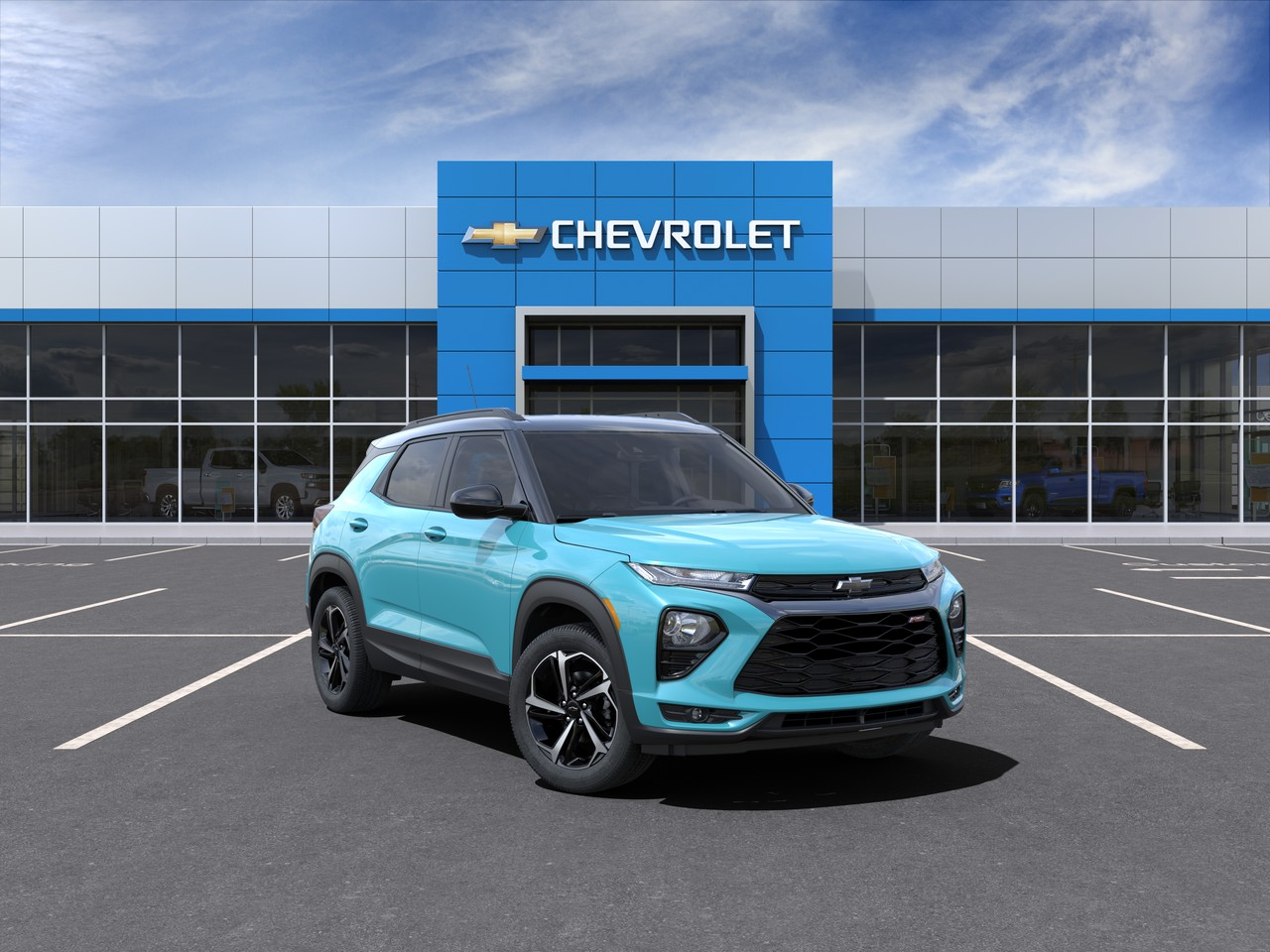New 2021 Chevrolet Trailblazer RS FRONT WHEEL DRIVE SUV