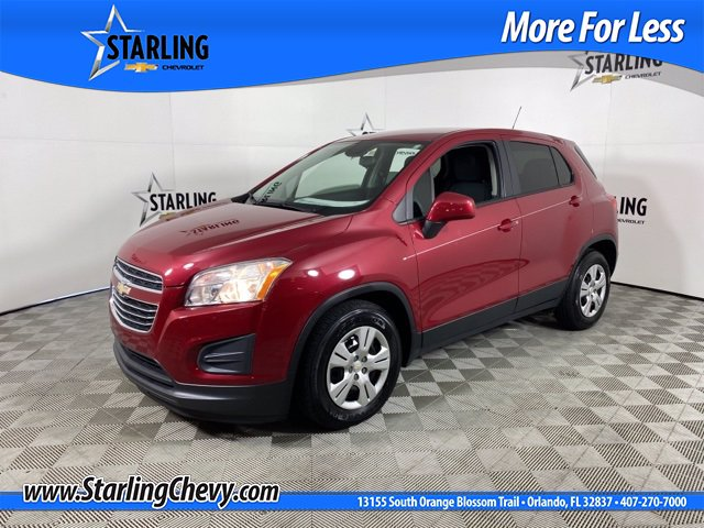 Certified Pre-Owned 2015 Chevrolet Trax LS FWD SUV