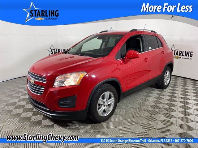 Pre-Owned 2015 Chevrolet Trax LT FWD SUV