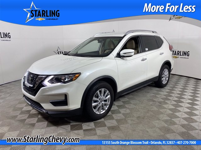 Pre-Owned 2018 Nissan Rogue SV Wagon 4 Dr.