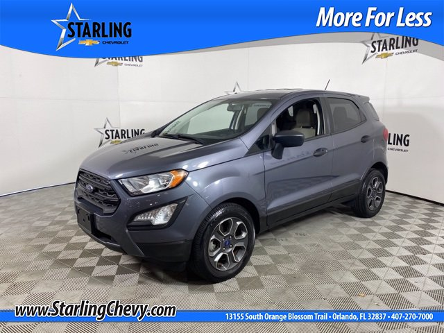 Pre-Owned 2018 Ford EcoSport S Wagon 4 Dr.