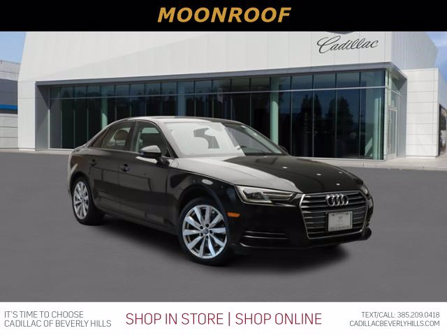 Pre-Owned 2017 Audi A4 NA Sedan 4 Dr.