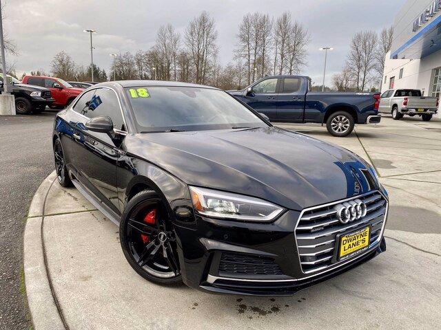 Pre-Owned 2018 Audi A5 Coupe Premium Plus