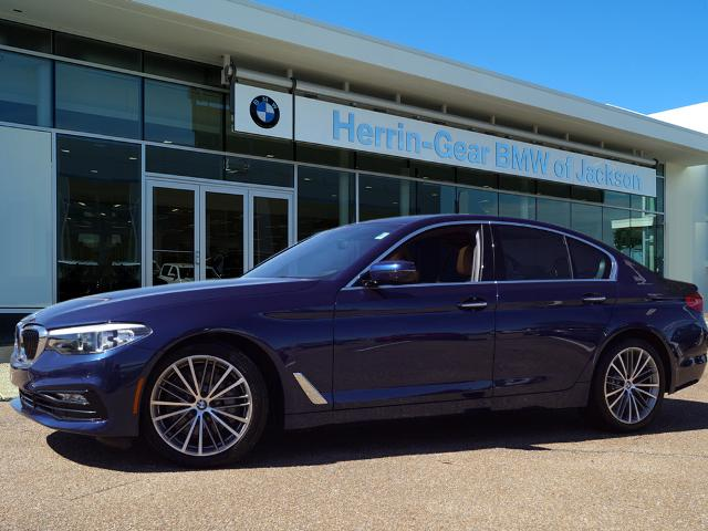 Pre-Owned 2018 BMW 5 Series Rear Wheel Drive Sedan 4 Dr.