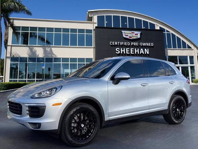 Pre-Owned 2018 Porsche Cayenne All Wheel Drive Wagon 4 Dr.