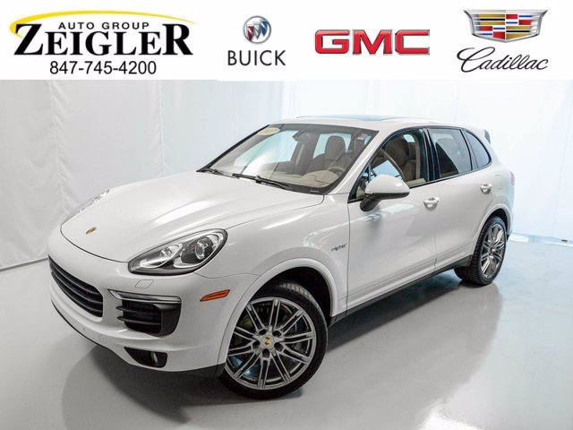 Pre-Owned 2017 Porsche Cayenne S E-Hybrid ALL_WHEEL_DRIVE Sport Utility