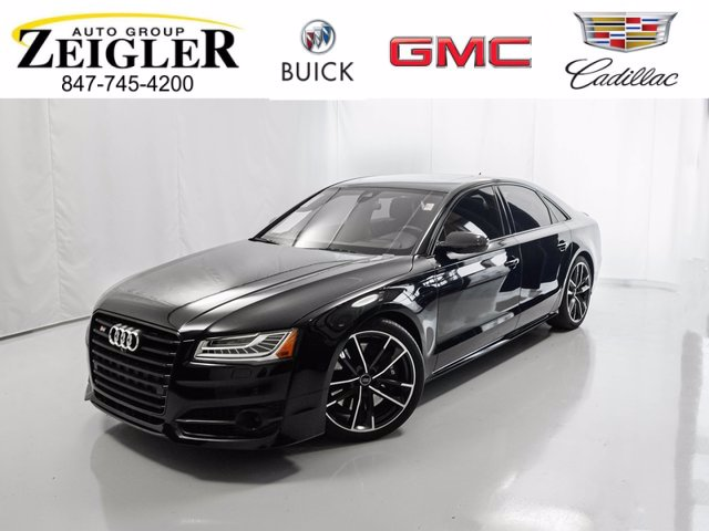 Pre-Owned 2017 Audi S8 plus 4.0T PLUS NA Sedan 4 Dr.
