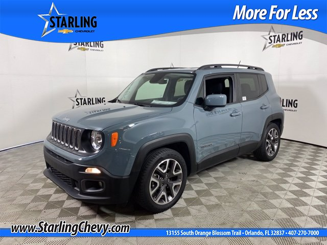 Pre-Owned 2017 Jeep Renegade Wagon 4 Dr.
