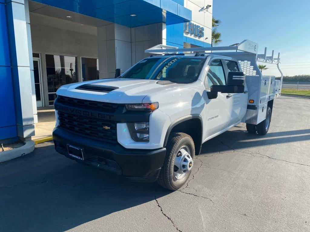 New 2020 Chevrolet Silverado 3500 HD Chassis Cab Work Truck REAR WHEEL DRIVE Crew Cab